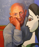 Pablo Picasso Tableaux Surréalisme Cubism Art Guinée Mnh Jeu De Timbres Art